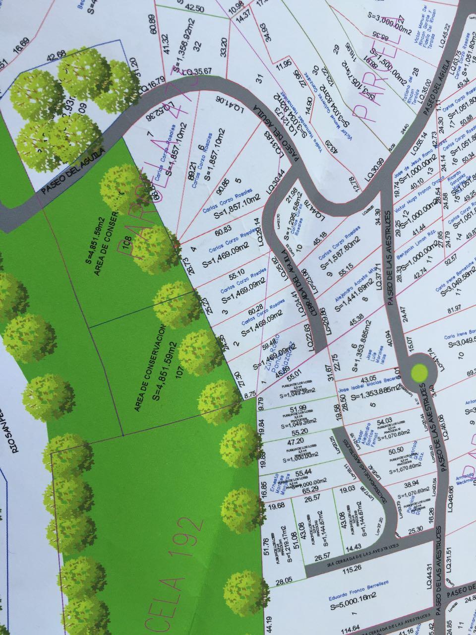 Eden Los Sabinos mapa croquis